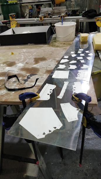 Template on Steel