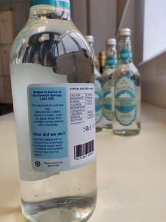 Water Bottle Graphics