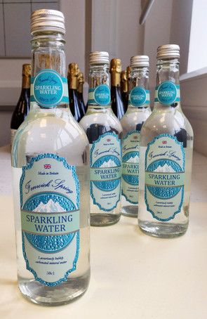 Sparkling Water Label