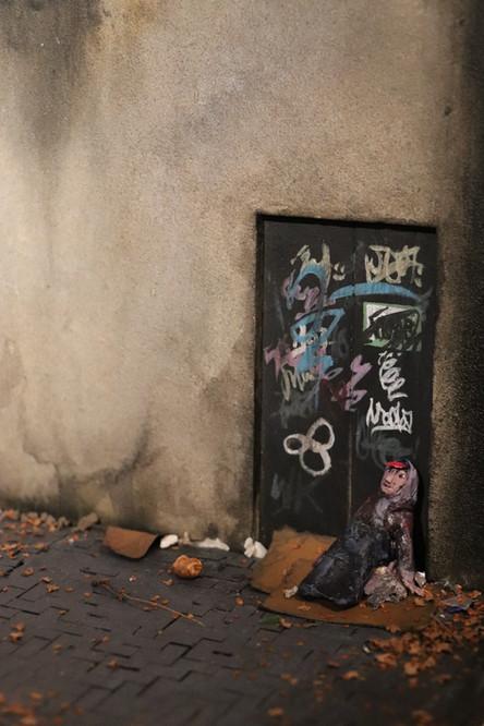 Graffiti'd Door