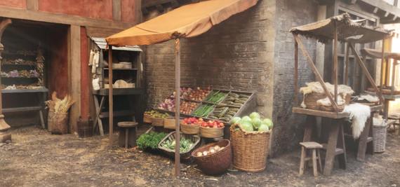 Marketplace fruit and veg