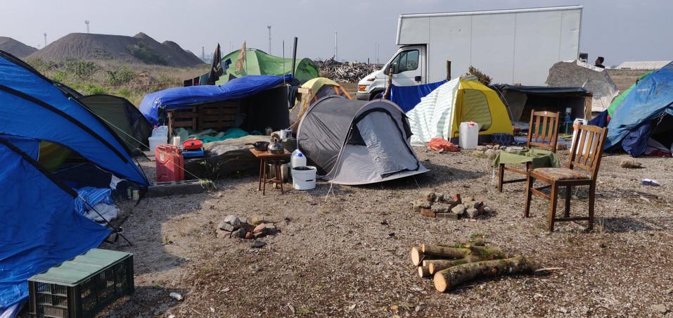 Refugee Camp area