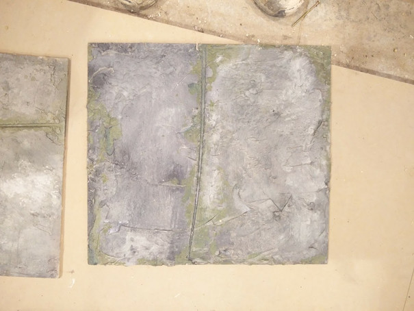 Cracked Concrete Sample