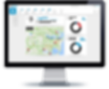 Office field service management dashboard