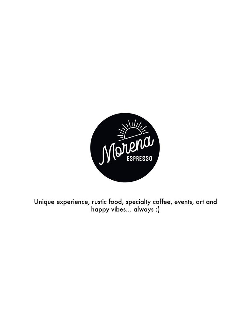Morena Espresso - Menu