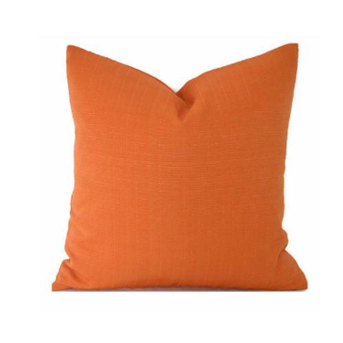 Cojín para exterior naranja