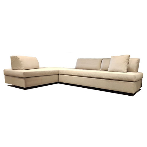 Sofa Cama Plane Tela Beige