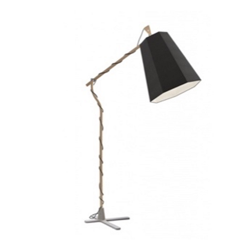 Floor Lamp XXL Luxiole Black White