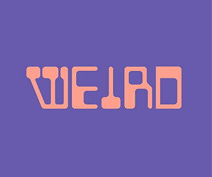 weird // any type of word