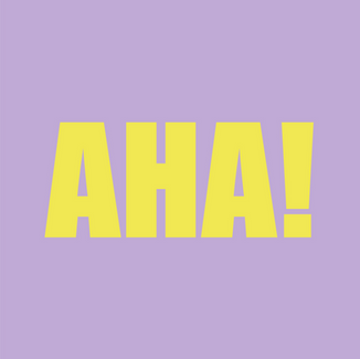 exclamation synonym: eureka! used when you suddenly understand or find something  Read Redefinition
