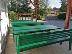 Gartengarnitur grün