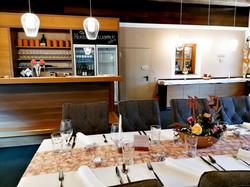 Bar im Birkensaal und Kuchenbuffet