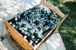 Radlbock als Bier-/Sektkühler