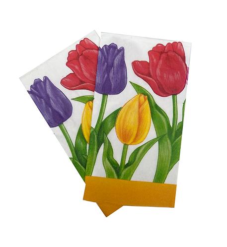 Guardanapo de papel Tulipa
