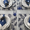 Thumbnail: Kit Jogo americano Abacaxi Azul