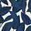 Thumbnail: Kit Jogo Americano Folhagem Azul