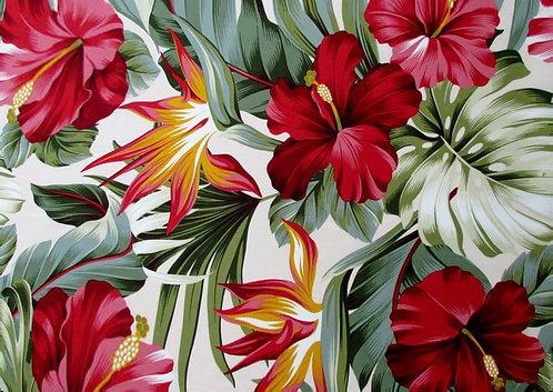 Kit Jogo Americano Tropical Red