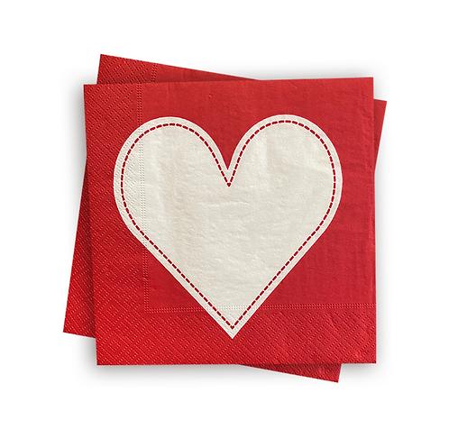 Guardanapo de papel Heart