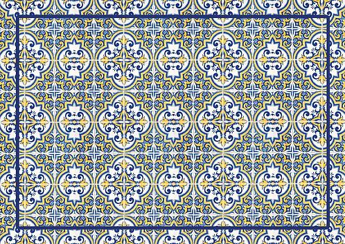 Jogo americano Azulejo Português