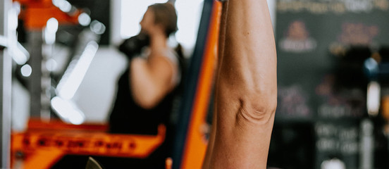 Strength Training increases muscle mass, while lowering body fat.
