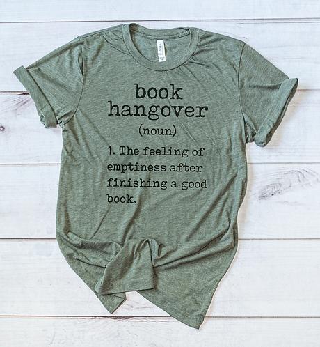 Book Hangover Tee