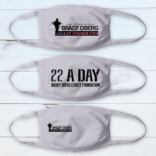 Brady Oberg Legacy Foundation Masks