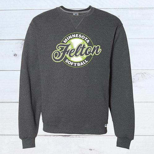 Felton Softball Crew Neck Sweatshirt