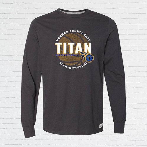 NCE-UH Titans Basketball Halftone Long Sleeve