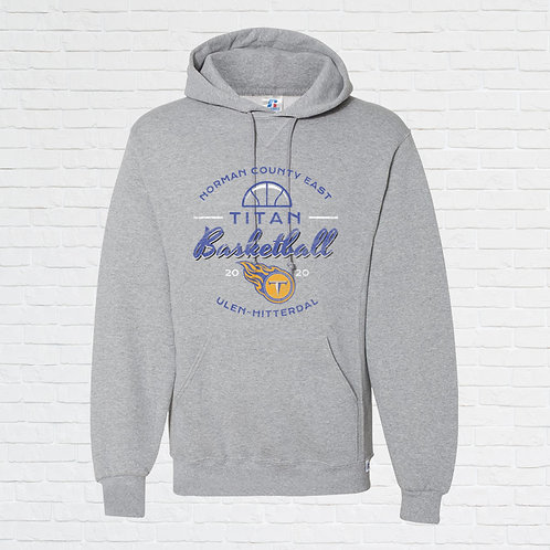 NCE-UH Titans Basketball Script Hoodie