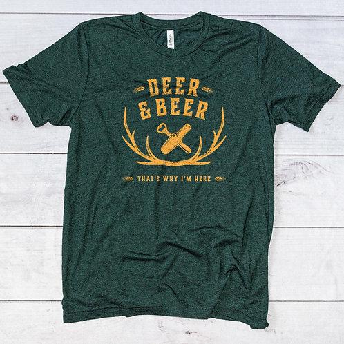 Deer + Beer Tee