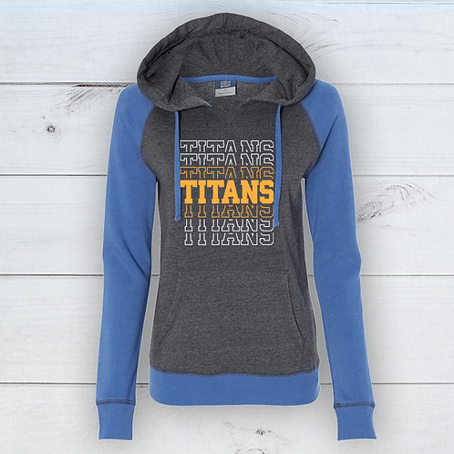 Titans Women's Raglan Hoodie