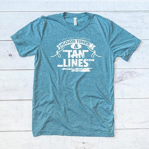 Leaf Lake Tan Lines Tee