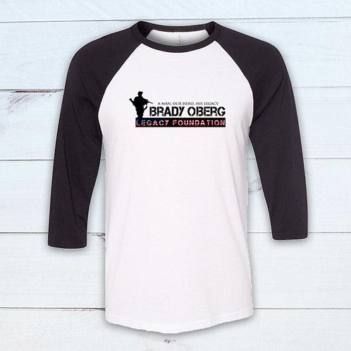 Brady Oberg Legacy Foundation Baseball Tee