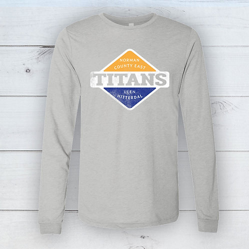 Titans Badge Long Sleeve Tee