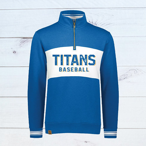 NCE-UH Titans Baseball Ivy League Pullover