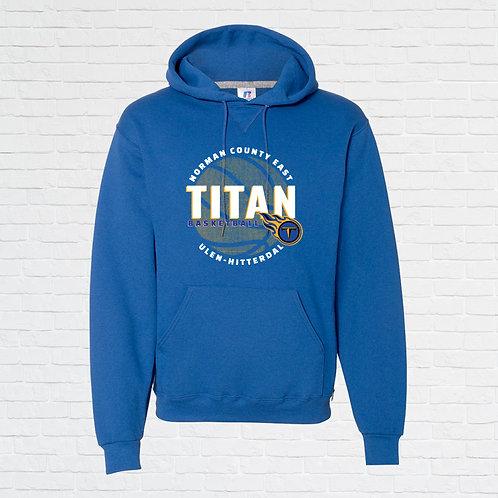 NCE-UH Titans Basketball Halftone Hoodie