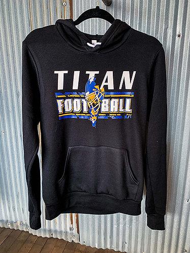 Titan Football Sponge Fleece Hoodie