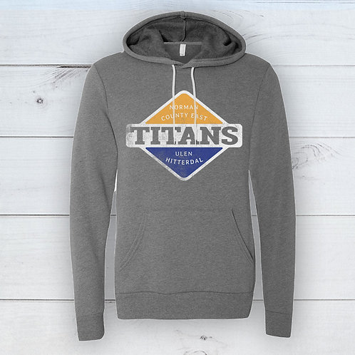 Titans Adult Badge Hoodie
