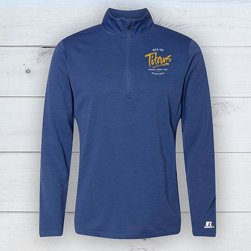 Titans Adult Sketch Quarter Zip