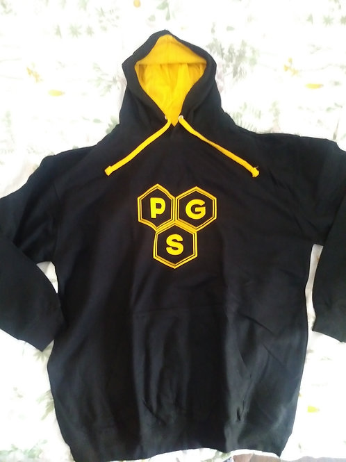 PGS Black and Gold Sweater