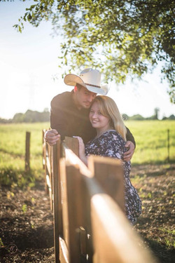 Engagement Pictures at the Barn