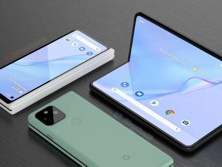 Conceito do Pixel Fold mostra como poderia ser o smartphone dobrável da Google