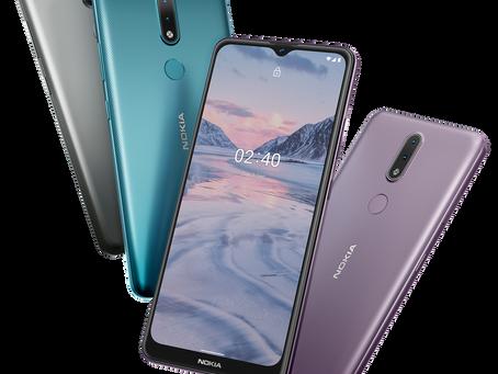 Nokia 2.4 chega ao Brasil com processador mais potente e tela maior