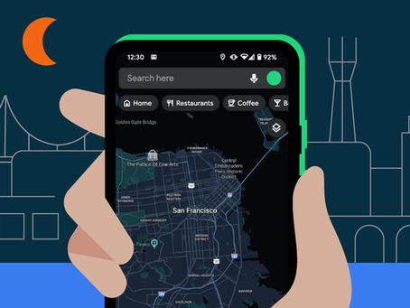 Google libera modo escuro no Maps e outras 5 novidades para o Android