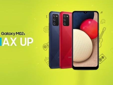 Galaxy M02s é anunciado com Snapdragon 450, uma bateria de 5.000 mAH e com o preço abaixo de R$ 700
