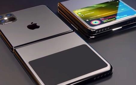 Apple registra patente de iPhone com mais de uma dobra e display exposto