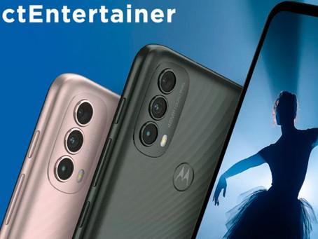Motorola anuncia Moto E40 com display de 90Hz e bateria de 5.000mAh