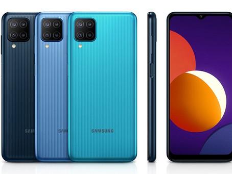 Samsung anuncia Galaxy M12 com uma bateria de 6000mAh e Android 11