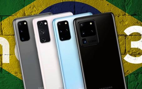 Linha Galaxy S20 recebe atualização para a One Ui 3.1 no Brasil
