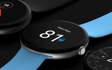 Google Pixel Watch exibe design circular com detalhes minimalistas